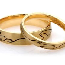Journey Wedding Ring Fairtrade Gold CRED Jewellery