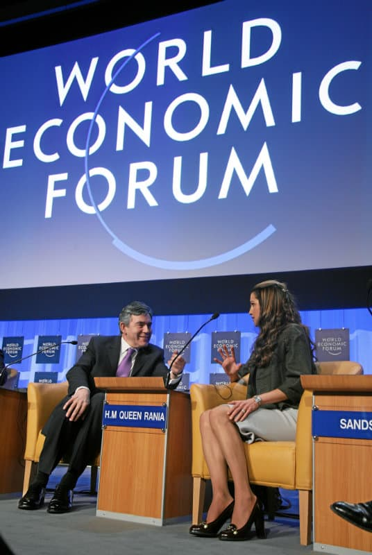 Corporate Global Citizenship in the 21st Century: Queen Rania, Gordon Brown