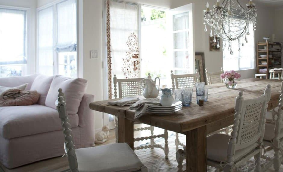 Vintage Interiors: How to do Shabby Chic Sustainably - Eluxe Magazine