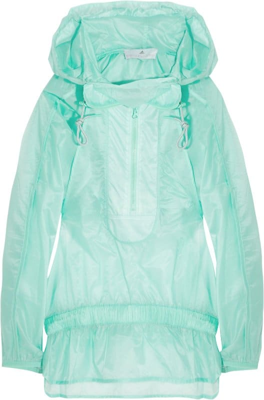 397828 Adidas by Stella McCartney Run hooded windbreaker jacket  at THEOUTNET.COM for AED 608