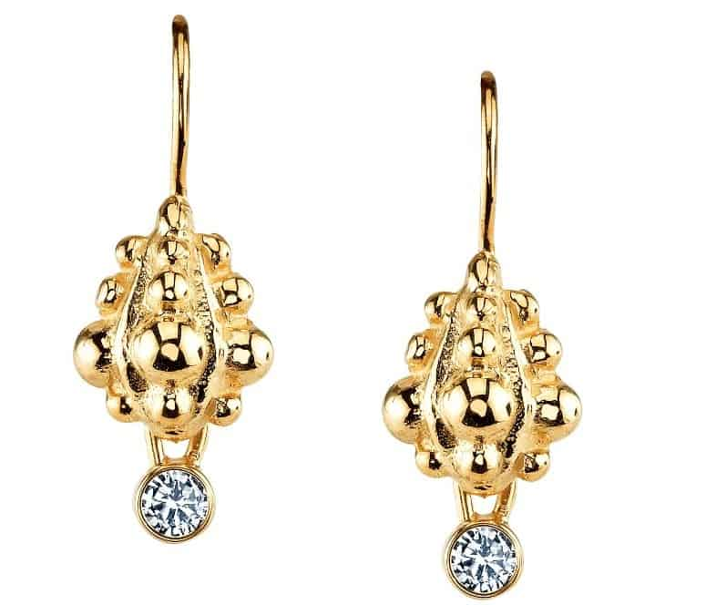 Ele Keats Diamond Earrings