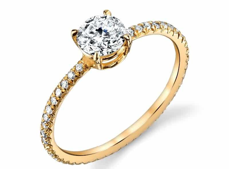 Ele Keats Diamond Solitare Ring