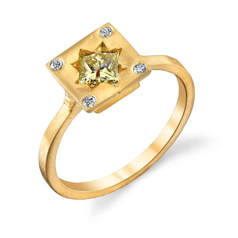 Ele Keats Yellow Diamond Ring