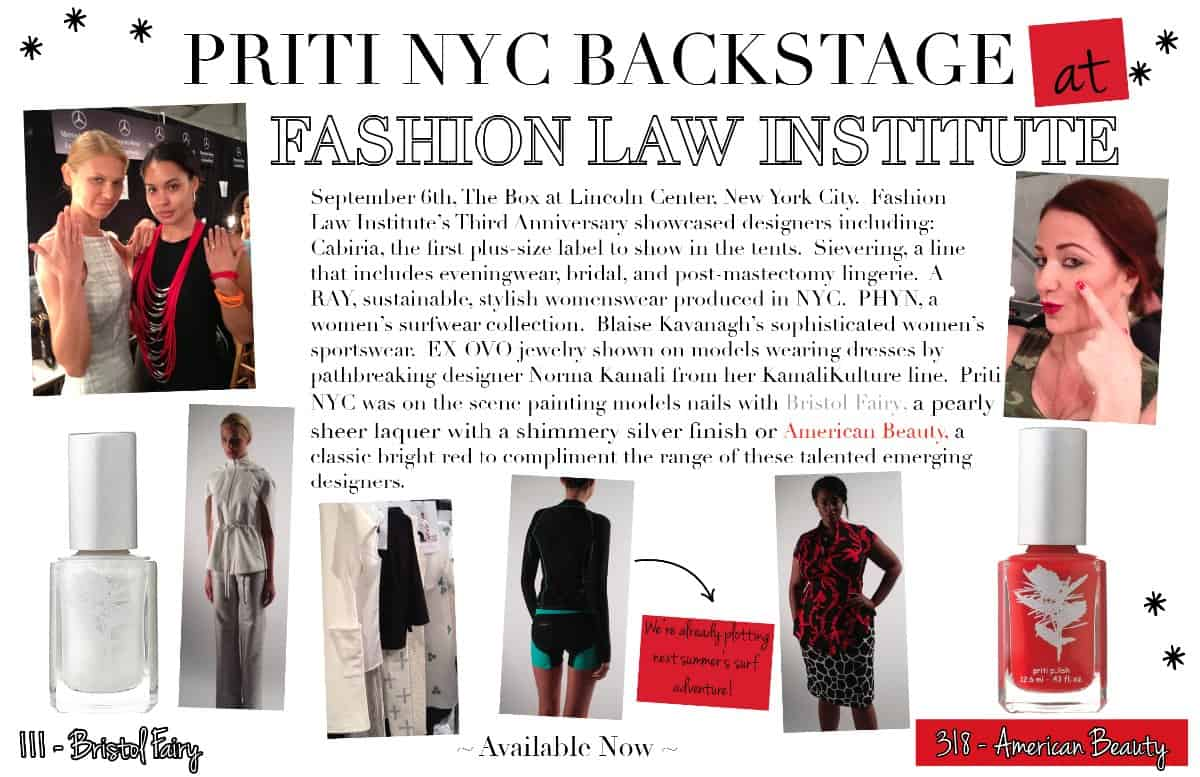 Priti NYC_ Fashion Law Institute_SS14