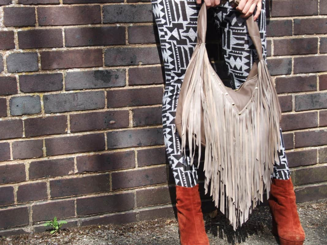 Rebecca Jane Large Tassel Bag-1