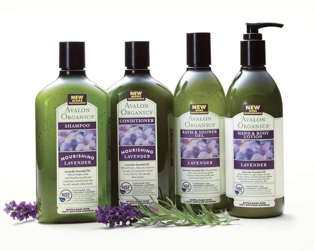 AVALON ORGANICS PRODUCTS EARTH DAY