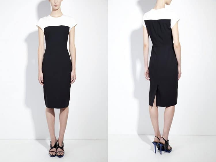 Honest-by-Bruno-Pieters-Black-Organic-Wool-Tailored-Pencil-Dress