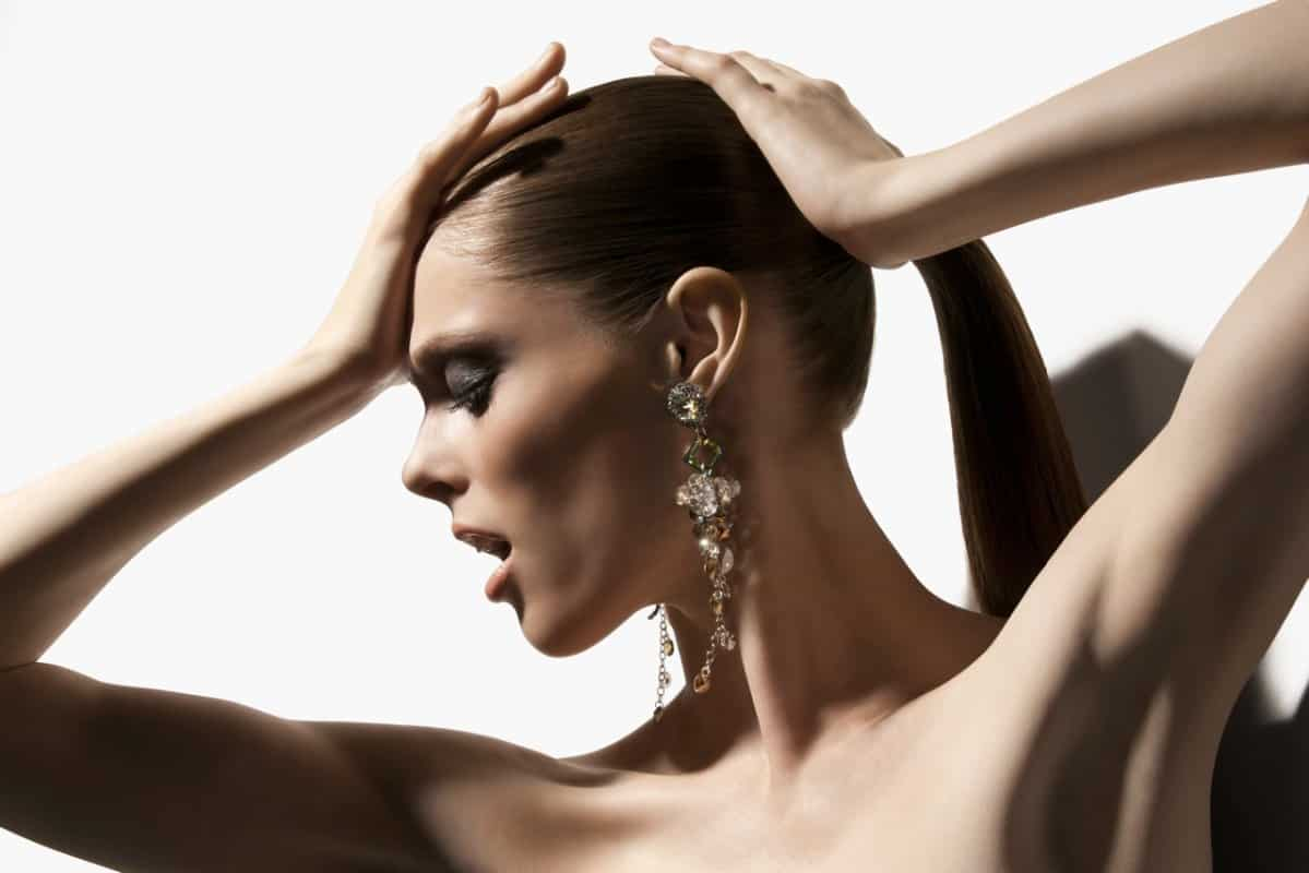 coco rocha for senhoa - coco wearing phary