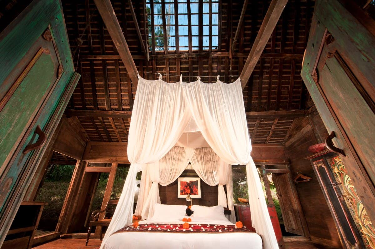 Bambu Indah - Jawa Lama House bedroom entrance view - Djuna Ivereigh