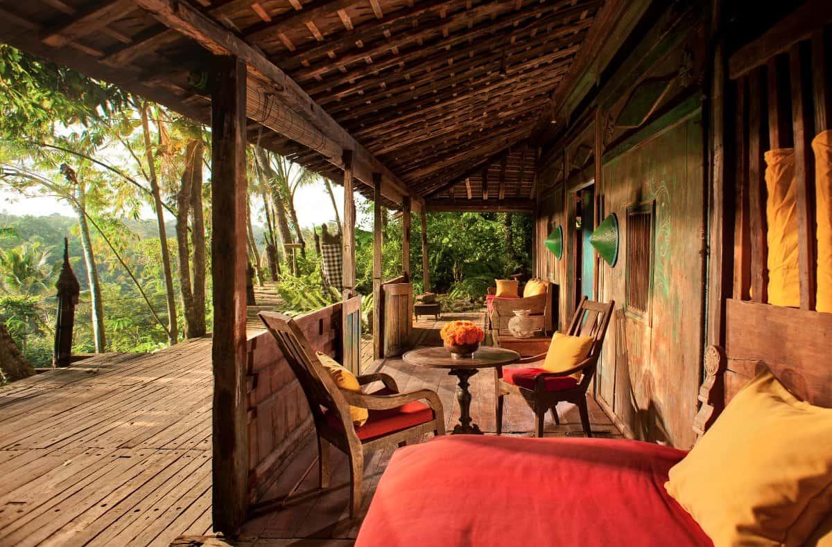 Bambu Indah - Jawa Lama House terrace - Djuna Ivereigh