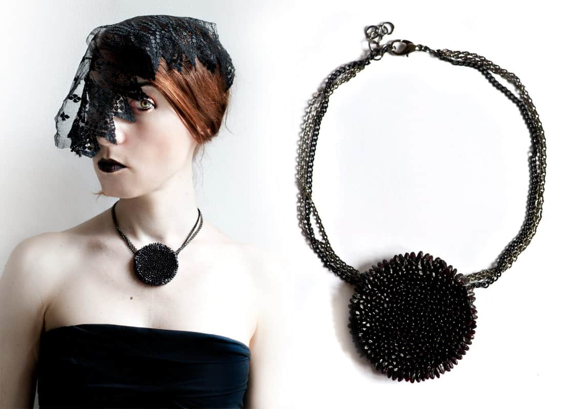 Collier in Black