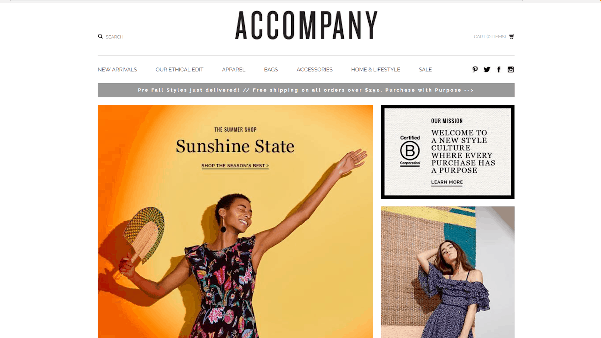 ethical fashion stores online