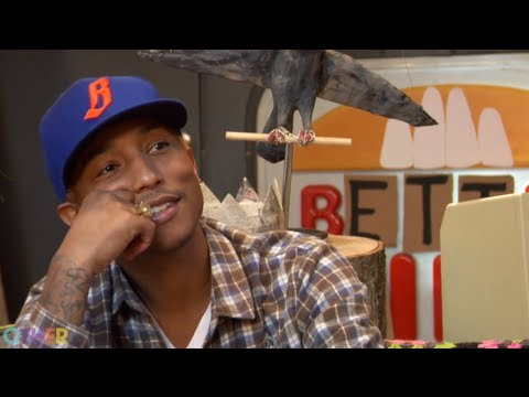 Pharrell Williams Gets Crafty