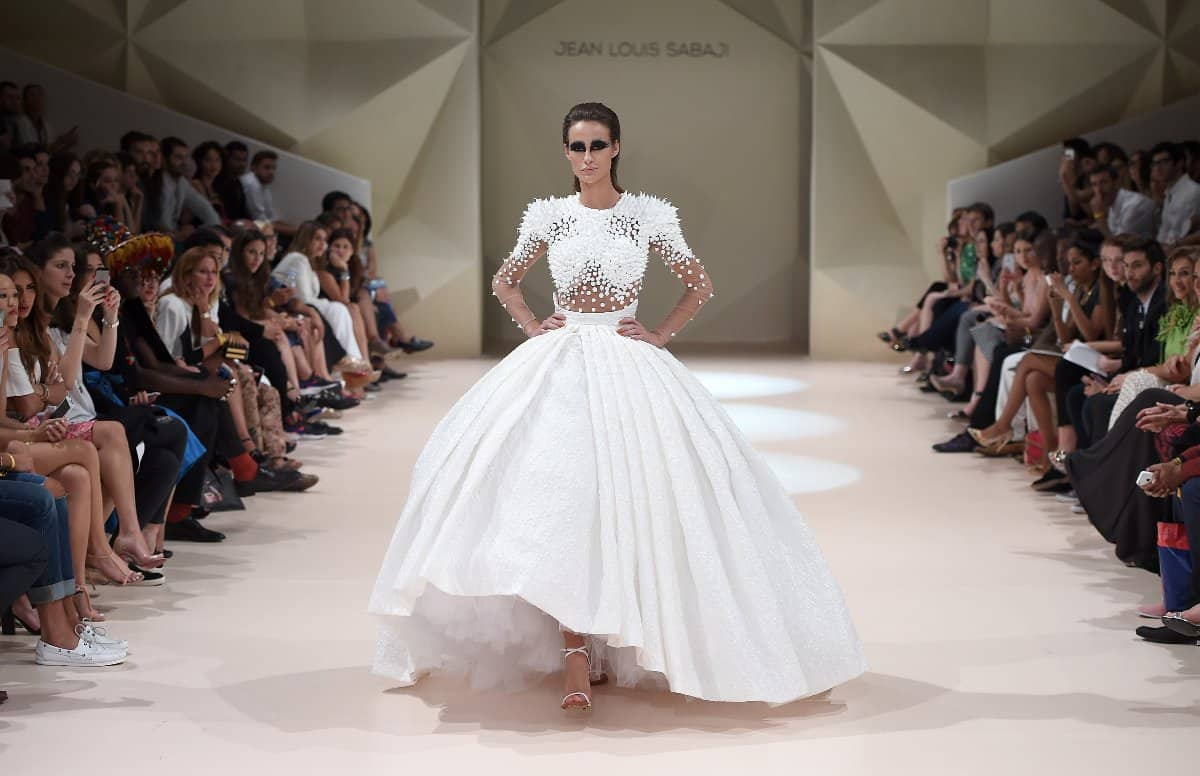 Jean Louis Sabaji - Runway - Fashion Forward Dubai October 2014