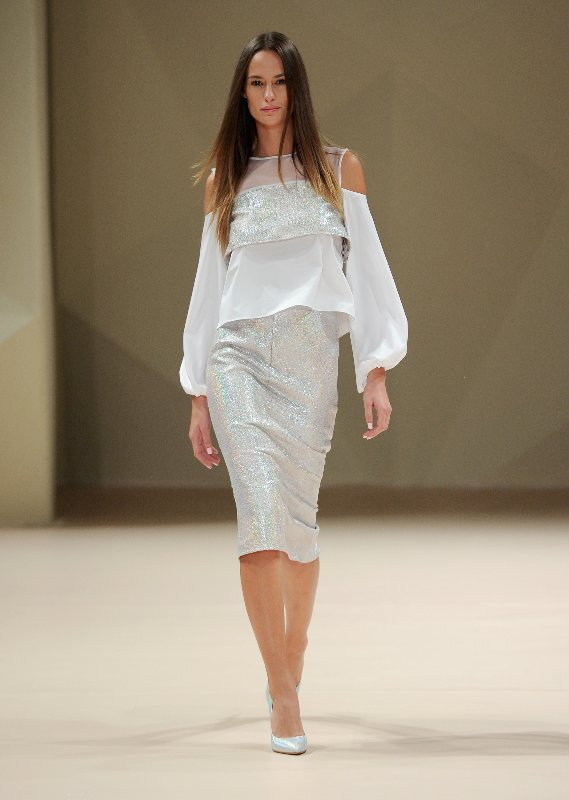 Dima Ayad - Runway - Fashion Forward Dubai October 2014