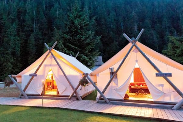 ... Gl&ing-Tents ... & RUSTIC AMERICA: LUXURY GLAMPING IN THE USA - Spiritual People