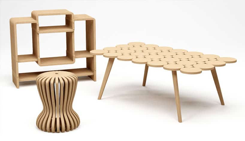 jufuku01  Bamboo furniture by Jufuku. Good Wood  How to Buy Sustainable Wood Furniture   Eluxe Magazine
