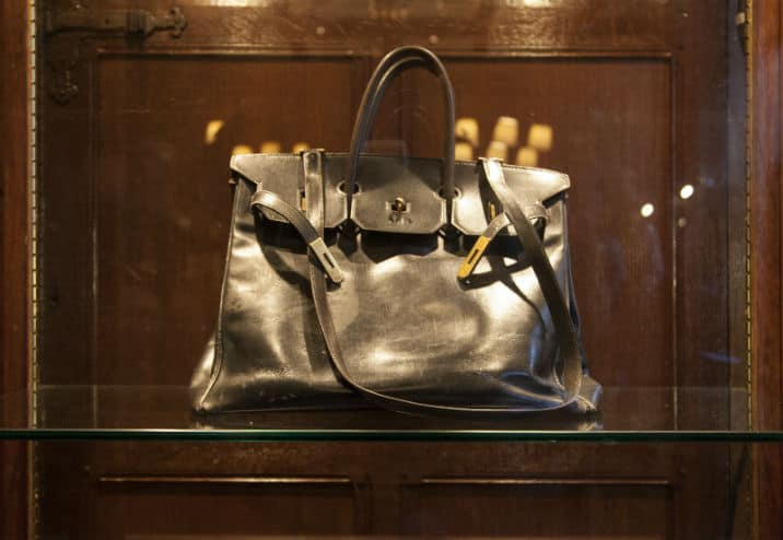 Hermes Birkin With Shoulder Strap