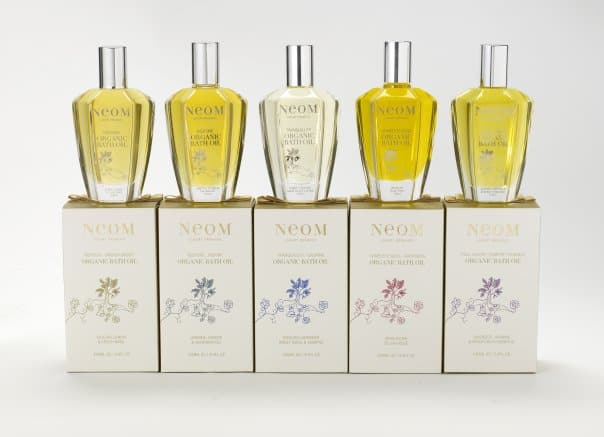 NEOM bath oil set