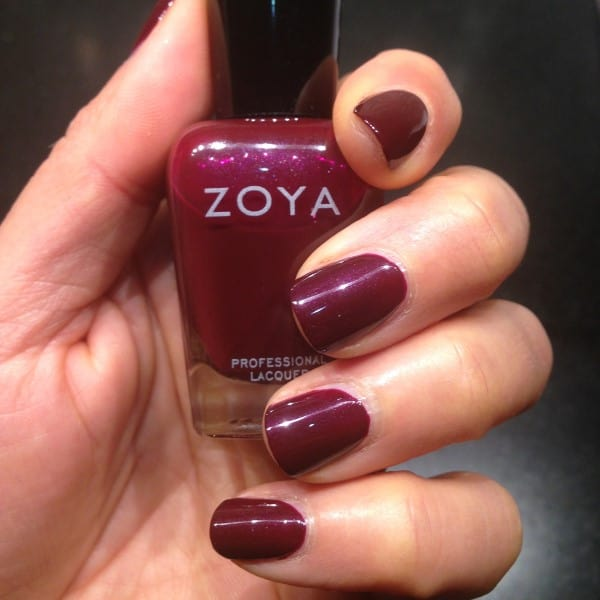 Anyone else thinking of candy apples? BTW, Zoya is never tested on animals, this 4-free brand contains no toluene, formaldehyde, dibutyl phthalate, ...