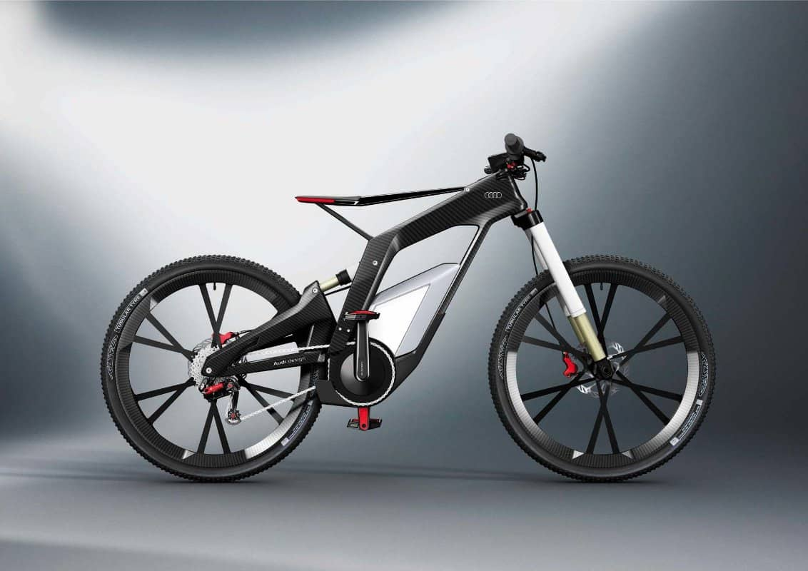 Audi e-bike Woerthersee