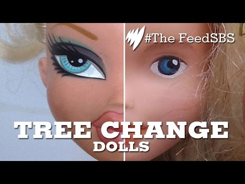 Barbie Gets a Makeunder: Meet the Tree Change Dolls