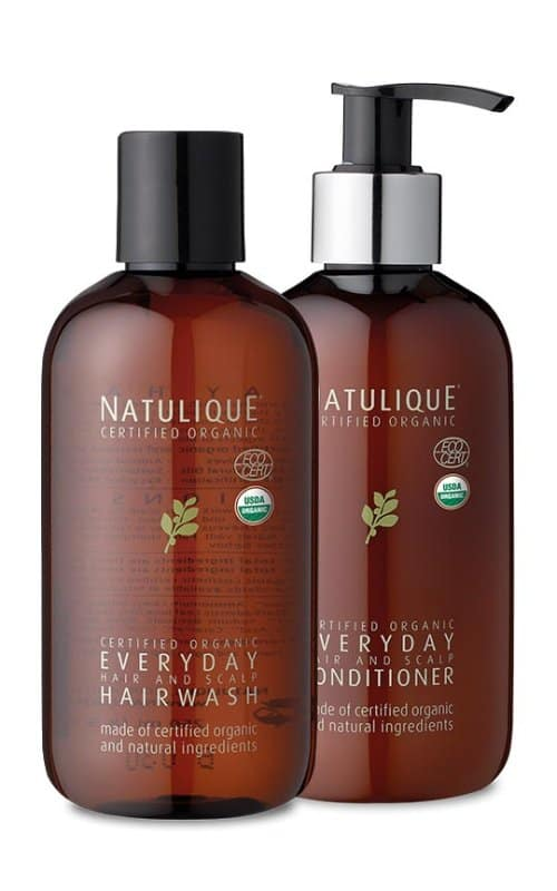 natural shampoo and conditioner