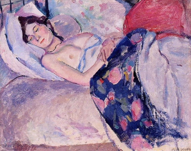 Jules Pascin: Sleeping Woman