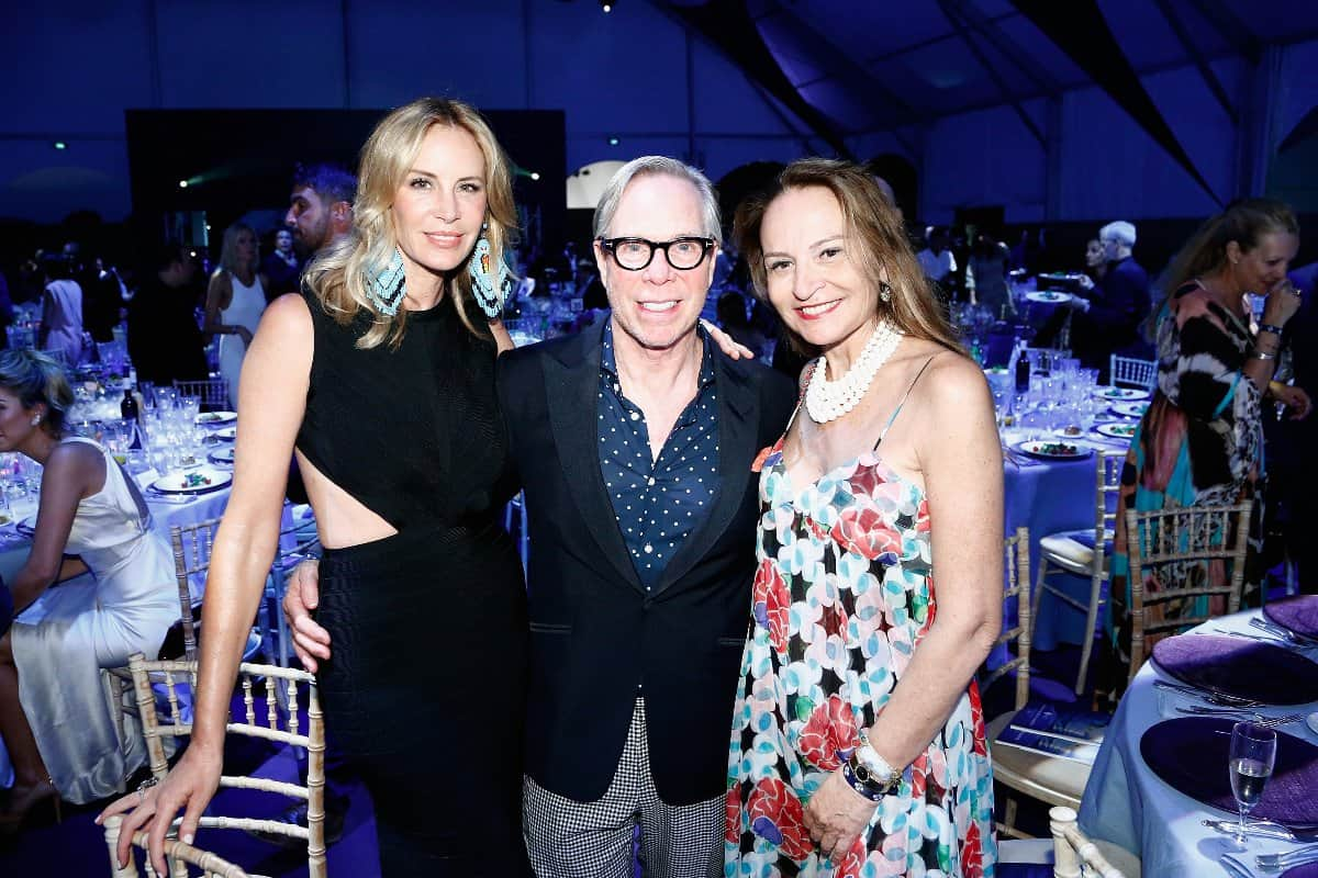 SAINT-TROPEZ, FRANCE - JULY 22: Dee Ocleppo Hilfiger, Tommy Hilfiger and guest attend a Dinner and Auction during The Leonardo DiCaprio Foundation 2nd Annual Saint-Tropez Gala at Domaine Bertaud Belieu on July 22, 2015 in Saint-Tropez, France.  (Photo by Handout/Getty Images)