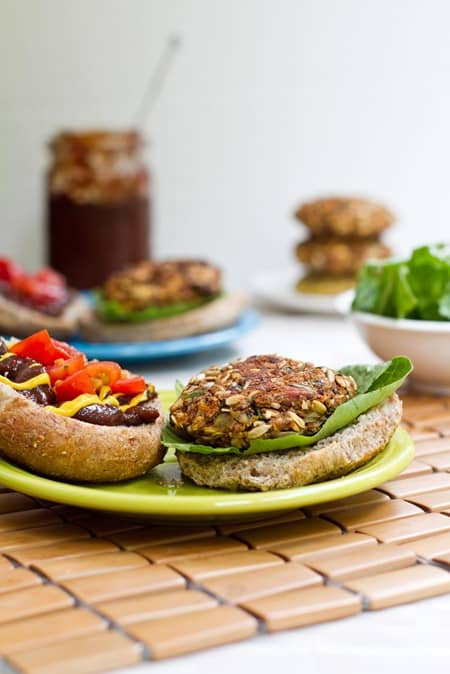vegan burger recipes for summer