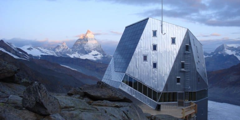 Monte Rosa Mountain Refuge, Zermatt, Switzerland 1