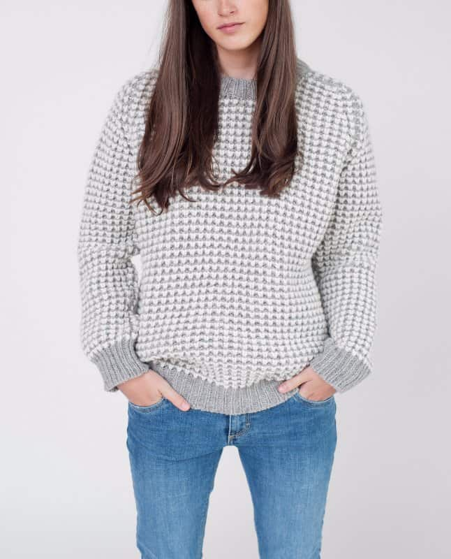 Anastasia-Beaumont-Organic-Knitted-Wool-Jumper-In-Light-Grey-1