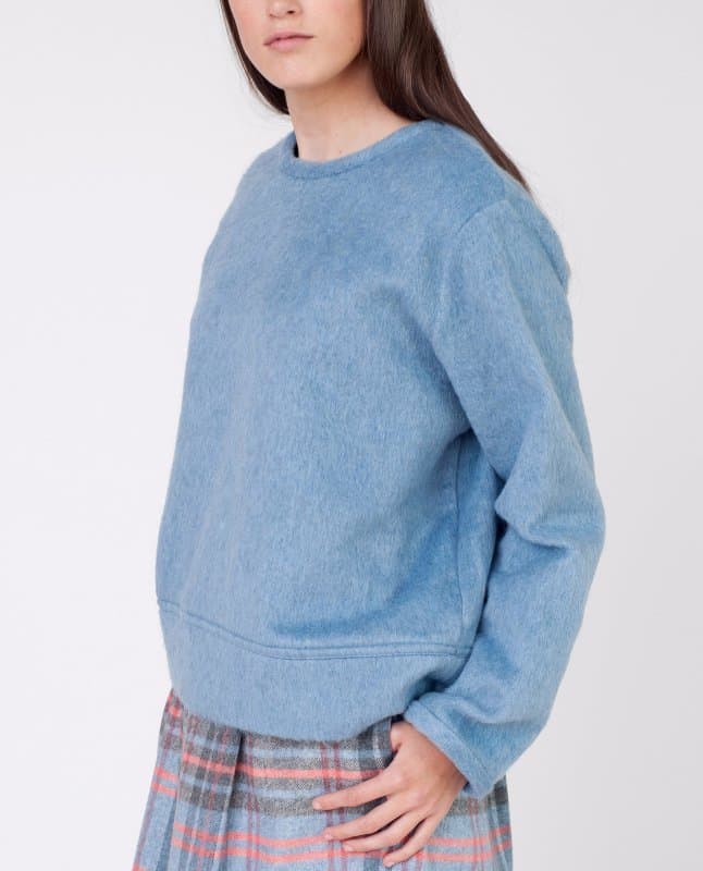 Samia-Beaumont-Organic-Faux-Fur-Jumper-In-Light-Blue-2