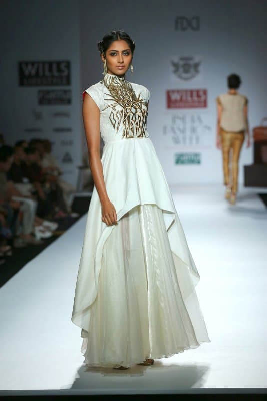 Show at Wills Lifestyle India Fashion Week 2014 (11)