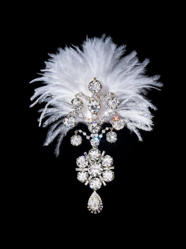 3. Diamond turban jewel made for the Maharaja of Nawanagar, 1907, remodelled in 1935, India
