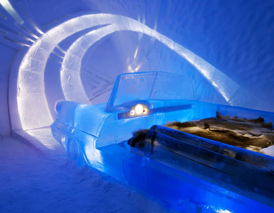 cool as heck we review sweden 39 s icehotel eluxe magazine. Black Bedroom Furniture Sets. Home Design Ideas
