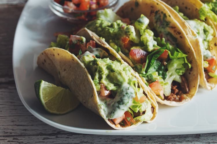 30 exotic vegan recipes from around the world eluxe magazine easy vegan tacos forumfinder Gallery
