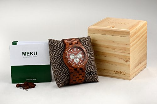 MEKU-Handcrafted-Mens-Wooden-Watch-Luxury-Style-Made-With-Natural-SandalwoodDay-Date-Calendar-0-5