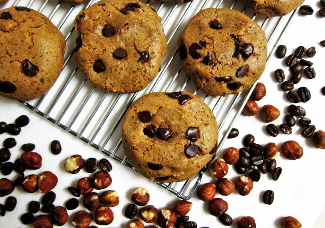 Hazelnut-Coffee-Chocolate-Chip-Cookies-3