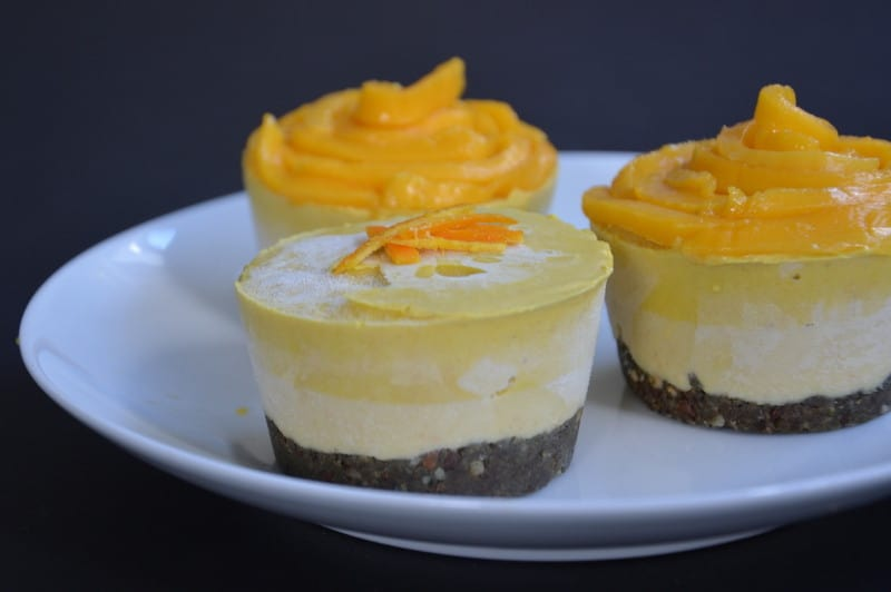 Orange-Mango-Mini-Cheesecake