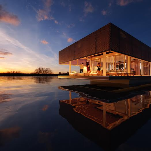 Luxury Homes On The Water: The Lap Of Luxury: 3 Sustainable Homes On Water