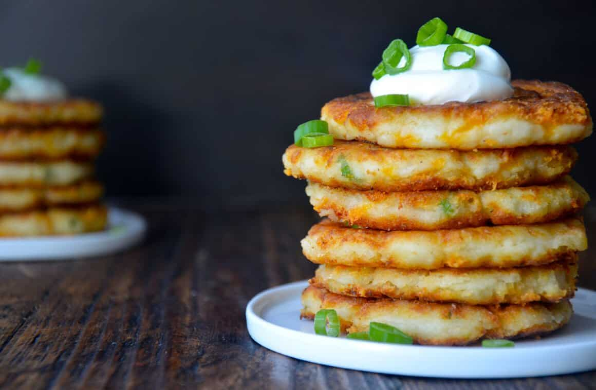 cheesy-leftover-mashed-potato-pancakes-recipe-1
