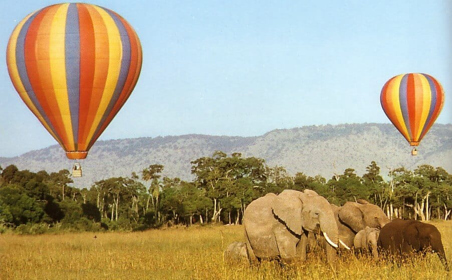 balloon tours in Africa