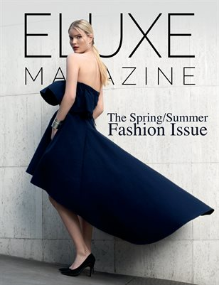 Eluxe Magazine Spring/Summer Issue cover