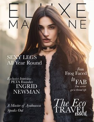 Eluxe Magazine Eco Travel issue
