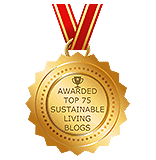 Sustainable Living Blog award