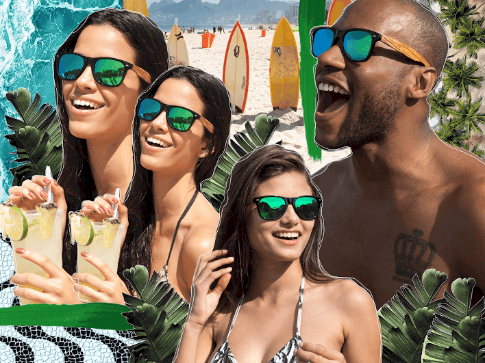 9ab4456515 WIN 1 of 2 Pairs of Woodies Wooden Wayfarer Sunglasses - Eluxe Magazine