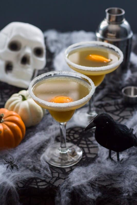 vegan Halloween cocktails