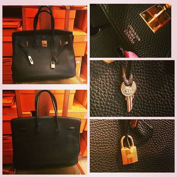 7daffa74d350 Don t Be Duped! 12 Ways To Spot A Fake Birkin Bag - Eluxe Magazine