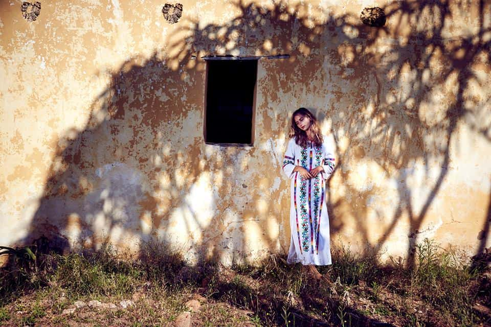 Sustainable kaftan